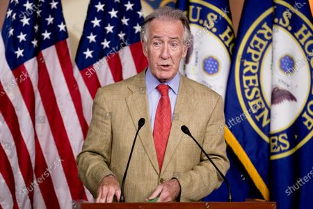 Rep. Richard Neal, D-Mass., speaks at a news conference on Capitol Hill in Washington, on the extension of federal unemployment benefits