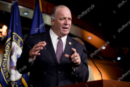 Stock Image of Rep. Dan Kildee, D-Mich., speaks at a news conference on Capitol Hill in Washington, on the extension of federal unemployment benefits