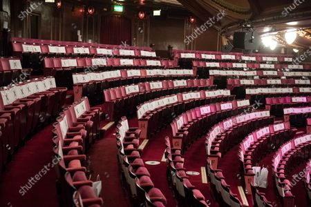 Stock Picture of Sarah Vine goes to see Beverly Knight at the London Palladium as they start to reopen the West End in London.