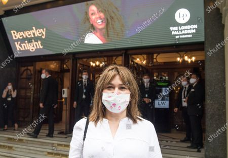 Sarah Vine goes to see Beverly Knight at the London Palladium as they start to reopen the West End in London.