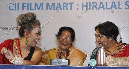 Editorial photo of Renowned Dancer Amala Shankar Dies In Kolkata At 101, West Bengal, India - 16 Nov 2012