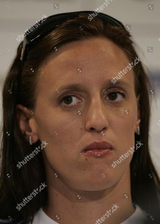 Karen Pickering Swimming 4 X100m Relay. Cyprus 2004 Olympic Holding Camp.