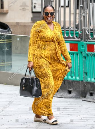 Editorial picture of Angie Greaves out and about, London, UK - 24 Jul 2020