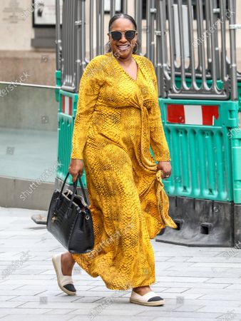 Editorial photo of Angie Greaves out and about, London, UK - 24 Jul 2020