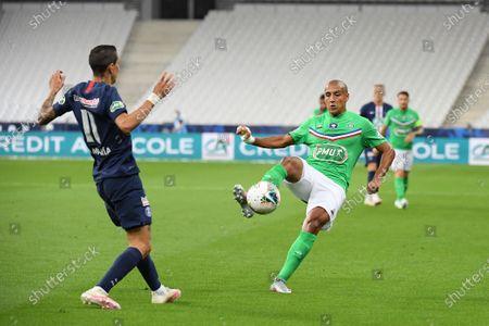 Editorial image of Paris Saint-Germain v ASSE, French Cup final football match, Saint-Denis, France - 24 Jul 2020