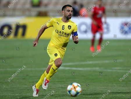 Dated, Qatar's Al-Sadd player Xavi Hernandez, former Barcelona and Spain midfielder, during an AFC Champions League match at the Azadi stadium in Tehran, Iran. 40-year old Xavi Hernandez has tested positive for the COVID-19 coronavirus, according to an announcement Saturday July 25, 2020