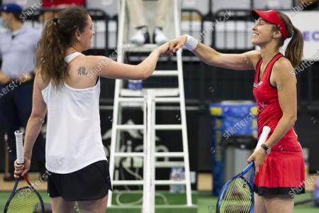 Editorial picture of Tennis Pro Cup in Biel, Switzerland - 25 Jul 2020