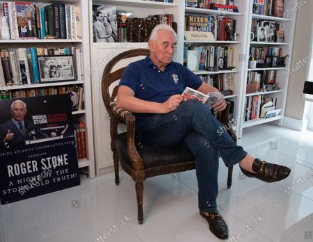 Editorial photo of Roger Stone, Fort Lauderdale, Florida, USA - 20 Jul 2020