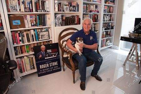 Editorial image of Roger Stone, Fort Lauderdale, Florida, USA - 20 Jul 2020