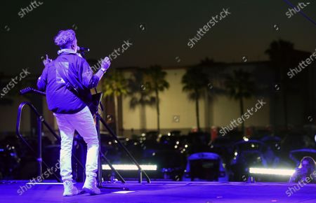 Editorial image of Concerts in your Car - Third Eye Blind, Ventura, United States - 25 Jul 2020