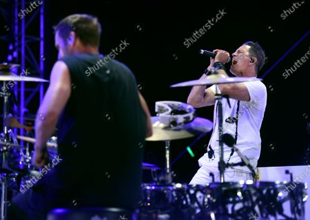 Editorial photo of Concerts in your Car - Third Eye Blind, Ventura, United States - 25 Jul 2020