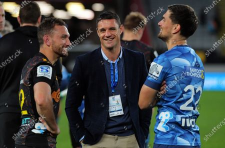 Editorial photo of Blues v Chiefs, Super Rugby Aotearoa, Eden Park, Auckland, New Zealand - 26 Jul 2020