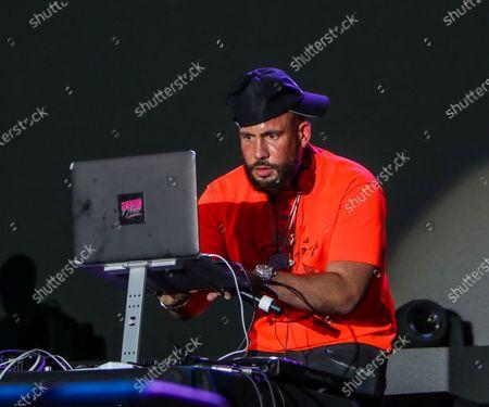 Stock Image of DJ Drama performs