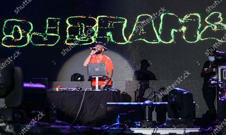 Stock Photo of DJ Drama performs