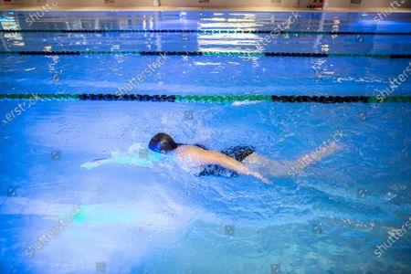 Editorial image of David Lloyd Hampton club opens its gym and swimming pools, Twickenham, London, UK - 24 Jul 2020