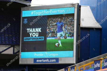 Editorial photo of Everton v Bournemouth, Premier League - 26 Jul 2020