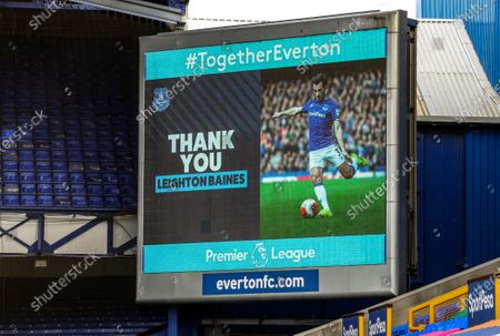 Editorial image of Everton vs AFC Bournemouth, Liverpool, United Kingdom - 26 Jul 2020