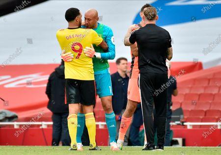 Editorial picture of Arsenal vs Watford, London, United Kingdom - 26 Jul 2020