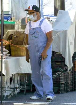 Editorial photo of David Alan Grier out and about, Los Angeles, USA - 26 Jul 2020