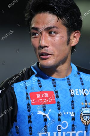 Ryota Oshima (Frontale) - Football / Soccer :  2020 J1 League match between Kawasaki Frontale 3-1 Shonan Bellmare at Kawasaki Todoroki Stadium, Kanagawa, Japan.