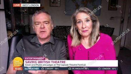 Editorial image of 'Good Morning Britain' TV Show, London, UK - 27 Jul 2020
