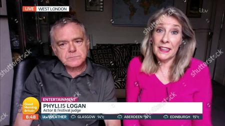 Kevin McNally and Phyllis Logan