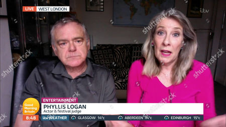 Stock Picture of Kevin McNally and Phyllis Logan