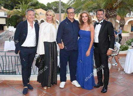 Del Brocco, Angelica Russo, Gabriele Muccino, Claudia Gerini and Simon Clementi