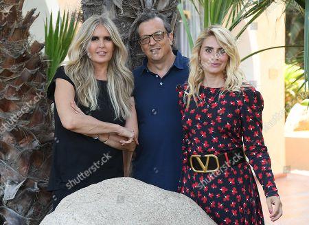 Gabriele Muccino, Tiziana Rocca and Angelica Russo