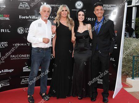 Editorial photo of Filming Italy Sardegna Festival, Santa Margherita di Pula, Forte Village, Sardinia - Jul 2020