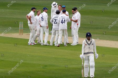 Editorial picture of Kent CCC vs Essex CCC, Friendly Match, Cricket, The St Lawrence Ground, Canterbury, Kent, United Kingdom - 27 Jul 2020