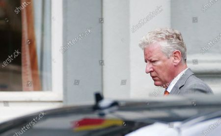 Stock Photo of Belgian Minister of Interior Affairs Pieter De Crem arrives at a meeting of the National Security Council, consisting of politicians and intelligence services, to discuss the deconfinement in the ongoing Covid-19 (Coronavirus) crisis in Brussels, Belgium, 27 July 2020. The reported Covid-19 contaminations are rising again. It is expected that some measures will be tightened again, instead of opening the next phase.