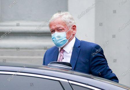 Editorial photo of Belgium National Security Council amid coronavirus pandemic, Brussels - 27 Jul 2020