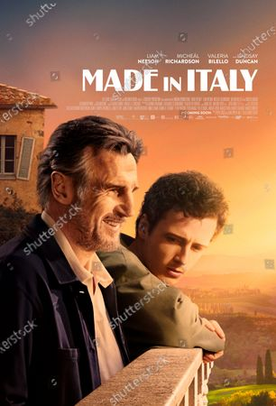 Stock Picture of Made In Italy Poster Art. Liam Neeson as Micheal Richardson as Jack