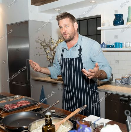 Editorial picture of Celebrity Chef Curtis Stone launches new Dawn dish, New York, United States - 16 Jan 2020