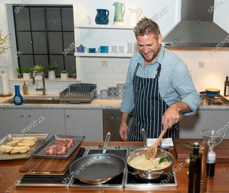 Editorial image of Celebrity Chef Curtis Stone launches new Dawn dish, New York, United States - 16 Jan 2020