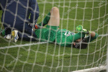 Michael Agazzi the Coppa Italia match that S.S. Lazio win 4-0 with Cremonese