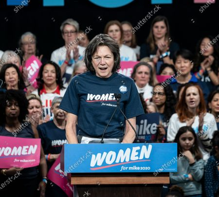 Editorial image of Mike Bloomberg 2020 launch Women for Mike, New York, United States - 15 Jan 2020