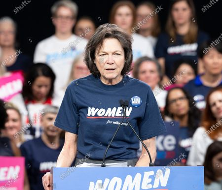 Stock Picture of Diana Taylor speaks during Mike Bloomberg 2020 launch Women for Mike at Sheraton New York