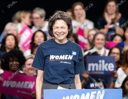 Stock Photo of Diana Taylor speaks during Mike Bloomberg 2020 launch Women for Mike at Sheraton New York