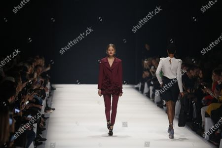 Editorial image of Irene Luft presents his fashion at  MBFW in Berlin, Berlin-Mitte, Germany - 14 Jan 2020