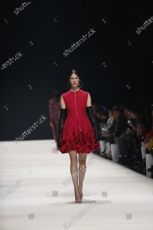 Editorial picture of Irene Luft presents his fashion at  MBFW in Berlin, Berlin-Mitte, Germany - 14 Jan 2020