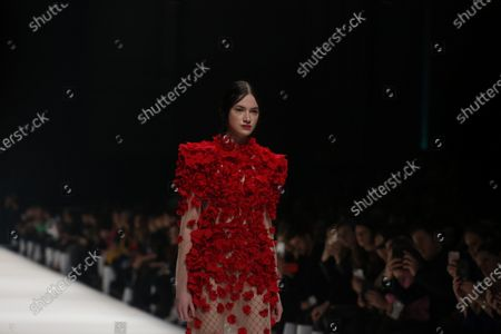 Editorial photo of Irene Luft presents his fashion at  MBFW in Berlin, Berlin-Mitte, Germany - 14 Jan 2020