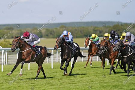 CHICHESTER, ENGLAND - JULY 29: Oisin Murphy riding Toro Strike win The Theo Fennell Handicap at Goodwood Racecourse on July 29, 2020 in Chichester, England.  (Photo by Alan Crowhurst/Getty Images), supplied by Hugh Routledge.
