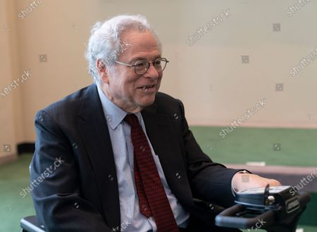 Violinist Itzhak Perlman attends Holocaust Memorial ceremony at UN General Assembly at United Nations Headquarters