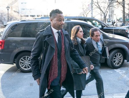 Actor Cuba Gooding Jr arrives for hearing on sexual harassment charges at New York State Criminal Court