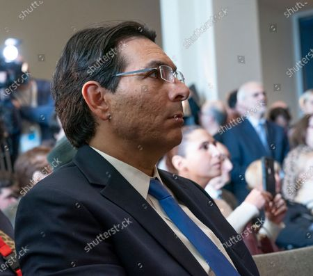 Israel Ambassador Danny Danon attends Opening of exhibition commemorating 75th anniversary of liberation of Auschwitz-Birkenau concentration camp at UN Headquarters