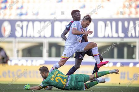 Editorial photo of Soccer : Serie  A 2019-2020 : Bologna 3-2 Lecce, Bologna, Italy - 26 Jul 2020