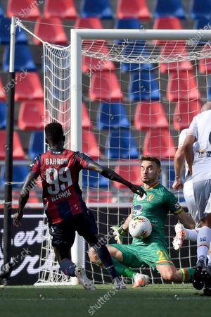 Editorial picture of Soccer : Serie  A 2019-2020 : Bologna 3-2 Lecce, Bologna, Italy - 26 Jul 2020