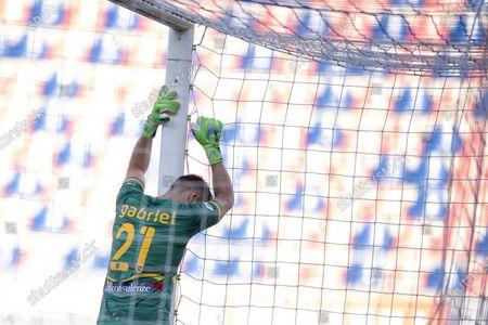 "Gabriel Vasconcelos Ferreira (Lecce)      during the Italian ""Serie A"" match between Bologna 3-2 Lecce at Renato Dall Ara Stadium in Bologna, Italy."